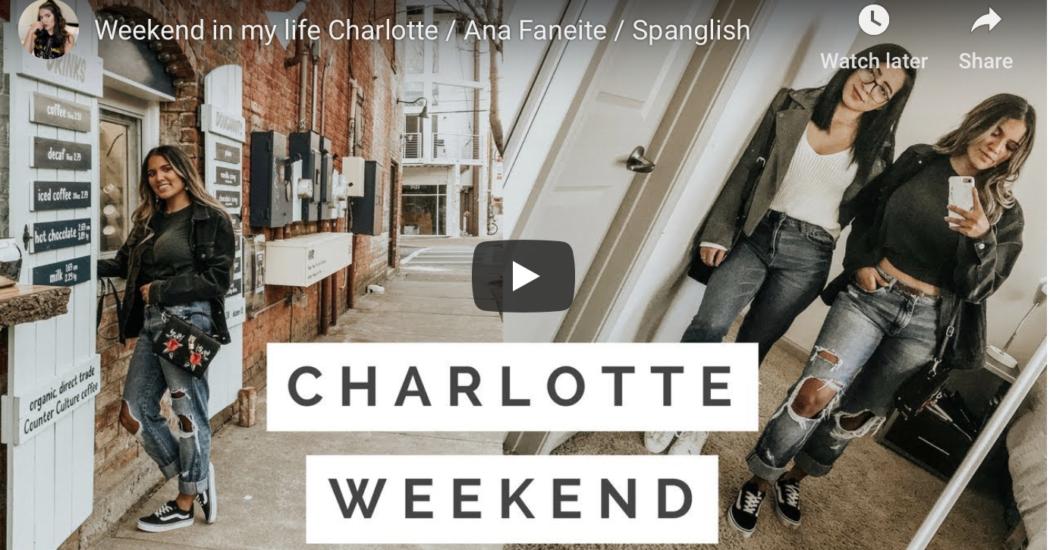 Ana Faneite a weekend in Charlotte North Carolina